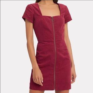 Intermix Courtney Dress Red